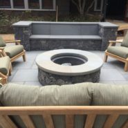Outdoor patio/fire pit
